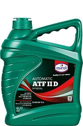 Eurol - 11365020 - Eurol ATF II D 4,0 L. Mineral isches ATF de 100 ml 1,00 & # x20ac;: Amazon.es: Coche y moto