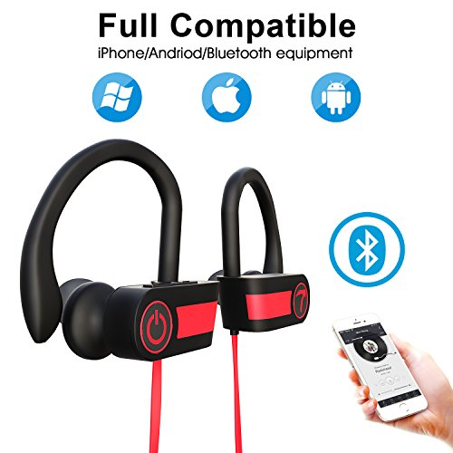 Bluetooth Headphones for Women Wireless Sport Earbuds with M