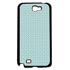 Preppy Teal Pattern Hard Snap on Phone Case (Note 2 II)