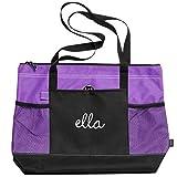 Ella Dance Bag: Gemline Select Zippered Tote Bag