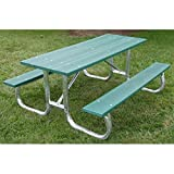 Jayhawk Plastics Commercial Maintenance-Free Recycled Plastic Picnic Table Review
