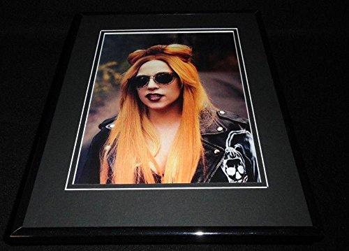 Lady Gaga in sunglasses 2011 Framed 11x14 Photo - Women For Sunglasses 2011