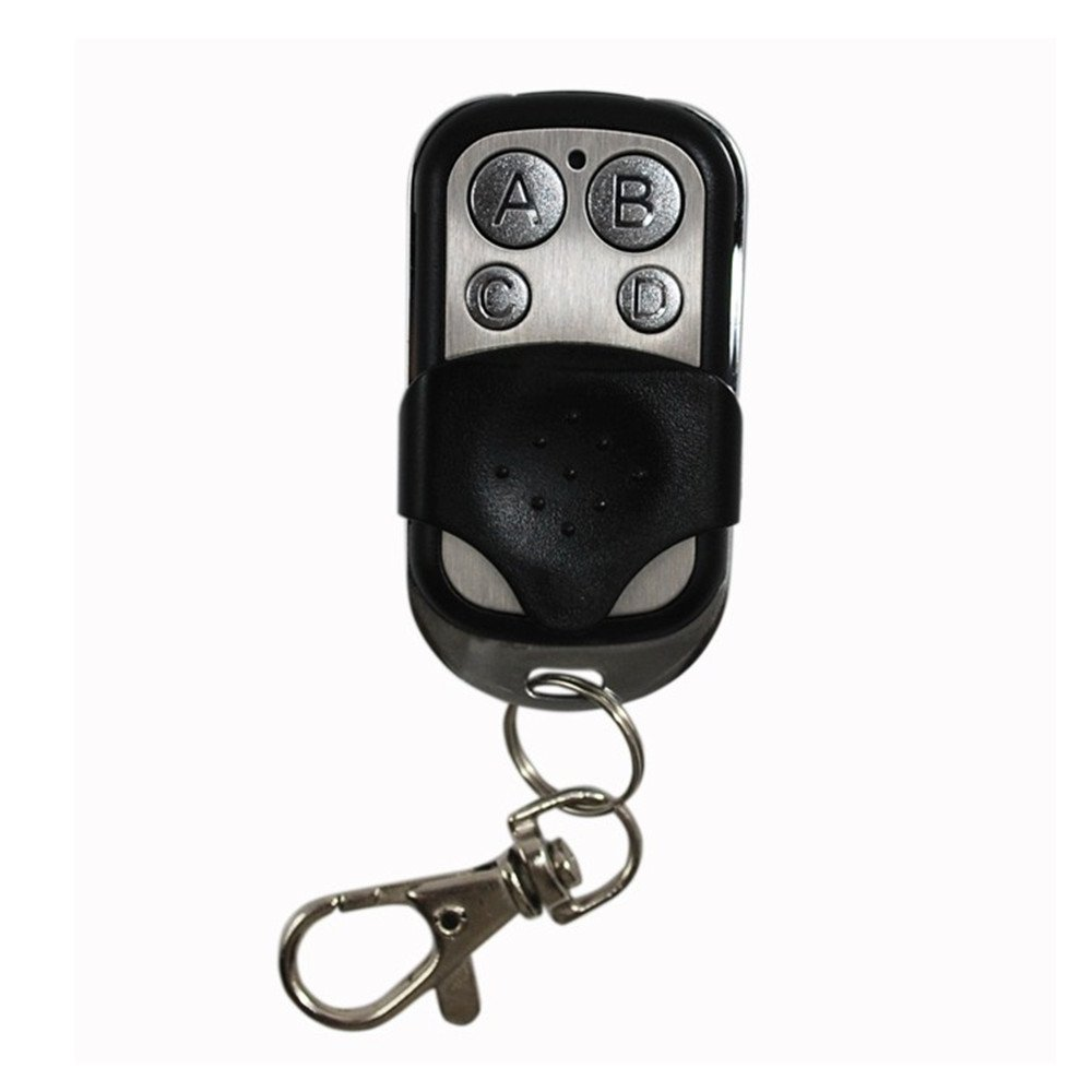 Universal 43392mhz car remote control clone transmitter 4 channel universal 43392mhz car remote control clone transmitter 4 channel keychain duplicator for garage door opener amazon rubansaba