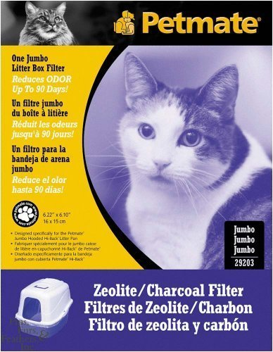 Petmate Zeolite Charcoal Filters for Hooded Cat Litter Boxes Jumbo by Petmate - Zeolite Charcoal