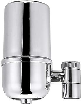 Montaje del Grifo del Filtro, El Agua del Grifo Purificador Grifo De La Cocina De Cerámica Lavable Percolador Mini ...