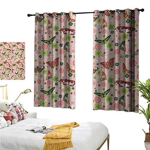 Luckyee Drapes for Living Room,Nature,63