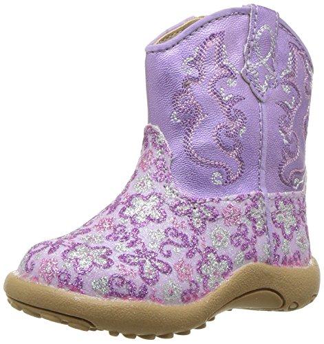 (ROPER Girls' Cowbaby Lavender, Purple 1 M US Infant)