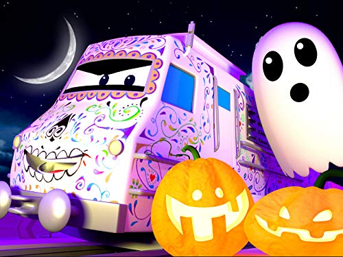 The Halloween Float Parade/A Giant Pumpkin -