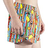 "B.O.A. Men's 3"" Stretch Half Split Short (Blarney)"