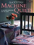 Quick and Easy Machine Quilts, Gloria Nicol, 1580111742