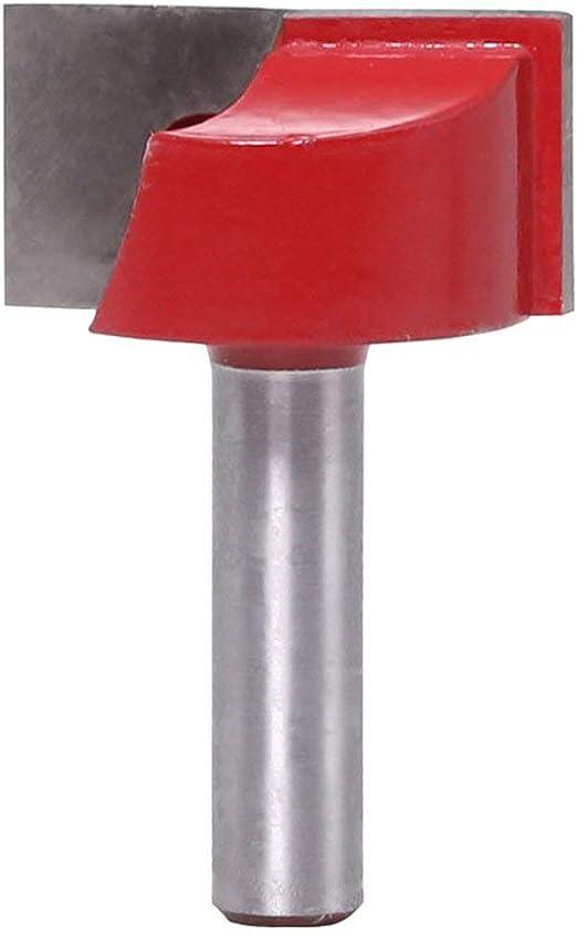 Kongqiabona 8MM V/ástago de Limpieza Inferior Grabado Fresa Broca Carpinter/ía Fresa de carburo Fresa Grabado Fresa para Madera Maciza