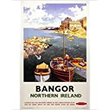 Photographic Print of Bangor, Northern Ireland , BR poster, 1955 by Media Storehouse