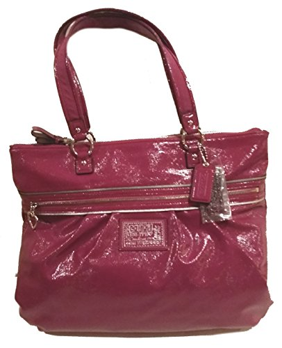 Coach Pink Patent Leather Bag - 9