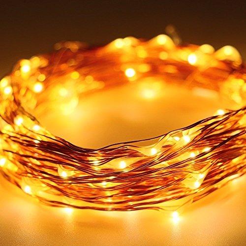 FOXNOV LED String Lights, Christmas Lights 12 M/40 Ft, 120 L