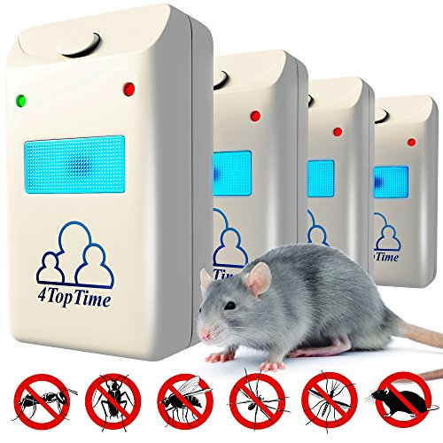 Ultrasonic Pest Repeller Repellent - Indoor Pest Control Dev