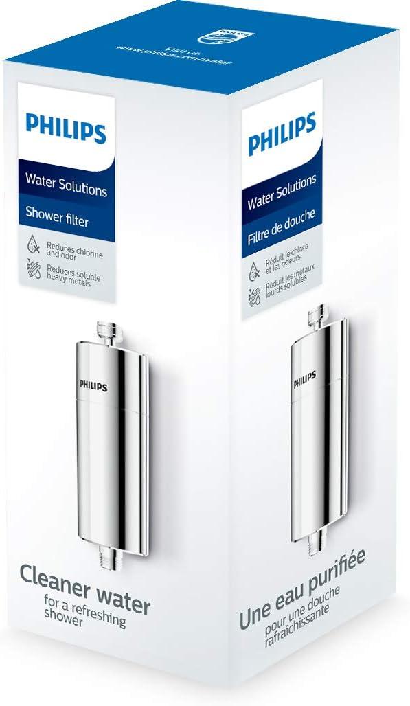 Philips Filtre de douche chrom/é
