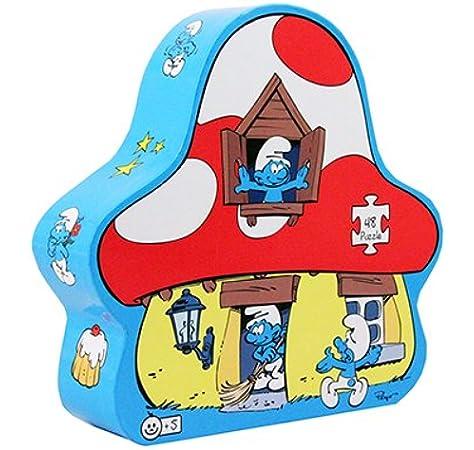 8224 Barbo Toys Smurfs Puzzle Silueta Pitufo