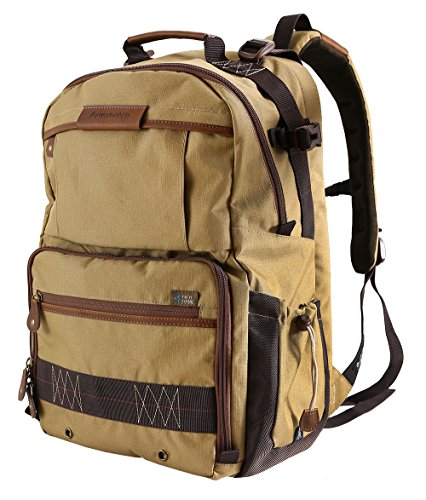 (Vanguard Havana 48 Backpack for Sony, Nikon, Canon, Fujifilm Mirrorless, Compact System Camera (CSC), DSLR, Travel)