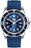 Breitling Superocean II 44 Blue Dial Mens Watch A17392D8/C910-157S