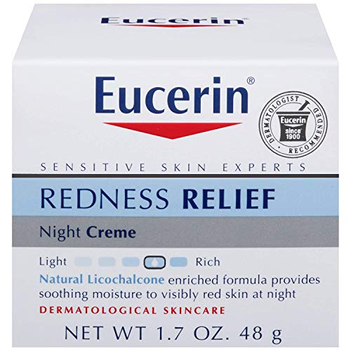 Eucerin Redness Relief, Night Creme 1.70 oz Pack of 3