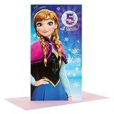 Hallmark Disney Frozen Anna 5th Birthday Card