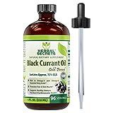 Herbal Secrets Black Currant oil 4 fl oz-Promotes Hair & Skin Health *