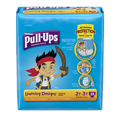 Huggies Pull-Ups Training Pants - Learning Designs - Boys - 2T-3T - 25 ct