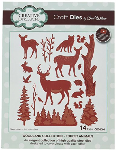 Sue Wilson CED3095 Woodland Collection Forest Animals