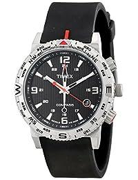 Timex Men's Intelligent Quartz T2P285 Black Rubber Analog Quartz Watch