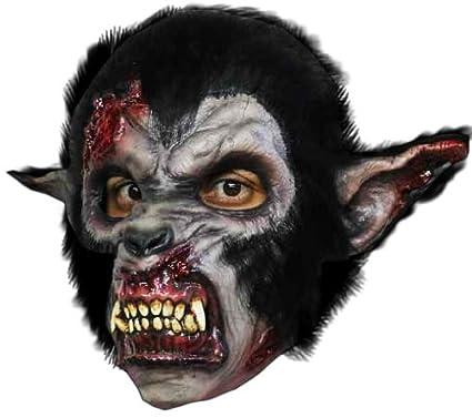 Horror-Shop Noche sangrienta máscara de lobo del hombre lobo: Amazon.es: Juguetes y juegos