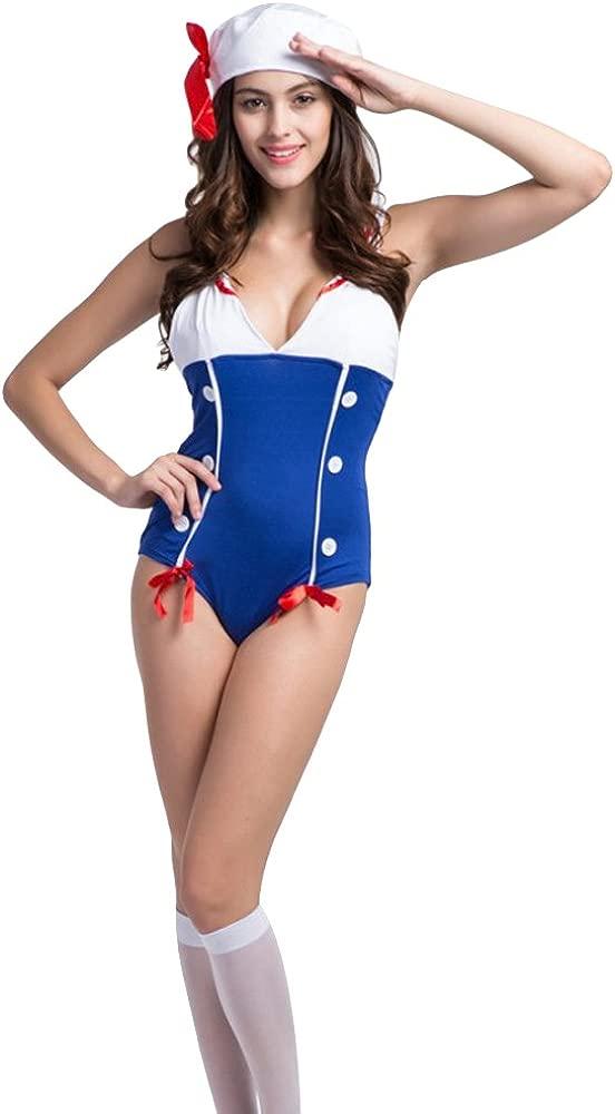Traje de neopreno para Mujer Sexy azul marino Diseño de ...