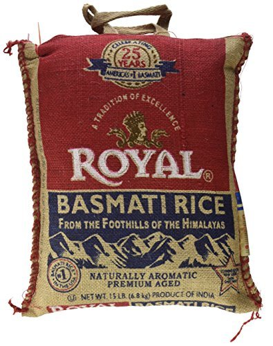 : Royal Basmati Rice, 15-Pound Bag