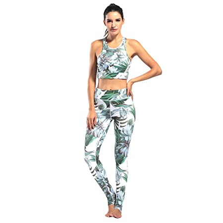 Conjuntos de ropa deportiva para mujer Yoga Fitness Set ...