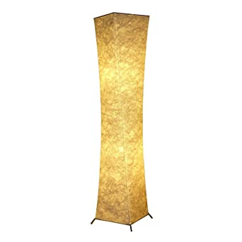 Chuangke 52 soft fabric floor standing lamp holmo floor lamp with chuangke 52quot soft fabric floor standing lamp holmo floor lamp with 2 bulbs simple natural mozeypictures Choice Image