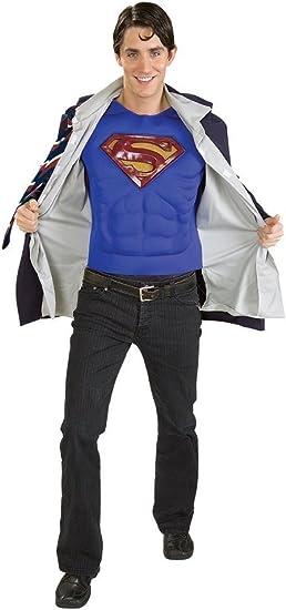 Clark Kent Superman Mens Costume