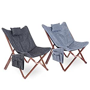 Generic MDB-US9...4408..8....Relaxing Seat oor Indoor ow Re Chair Storage Storag Portable Folding Reclining ding Pocket Pillow rtable NV_1008004408-MJT-US55