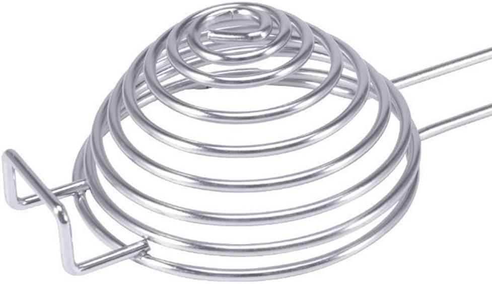 Weilifang Huevo del Acero Inoxidable en Espiral Blanca Separador Separador de la Clara de Huevo Yema de Huevo removedor Divisor con Cocina de la Herramienta de Mango Largo