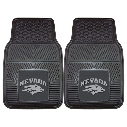FANMATS NCAA University of Nevada Wolf Pack Vinyl Heavy Duty Car Mat (University Rug Wolfpack)