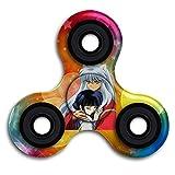 RenHe Women's Inuyasha Embrace Higurashi Kagome Slim Fit Vintage T-shirts Hand Spinner Tri-Spinner Fidget Spinner Toy Stress Reducer-Finger Toy, Great Gift