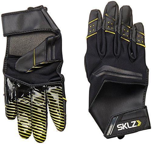 SKLZ Receiver Training Gloves Open Palm Football Gloves (Medium)