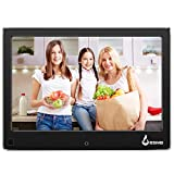 BSIMB Digital Picture Frame Digital Photo Frame 8'' LCD IPS Display Hi-Res Digital Photo & HD Video Frame Motion Sensor and USB/SD Card Playback Infrared Remote Control M22