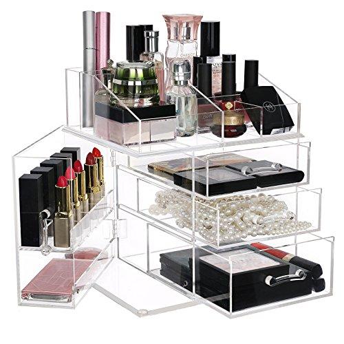 SONGMICS Acrylic Makeup Organizer ...