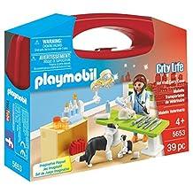 Playmobil Vet Visit Carry Case Playset