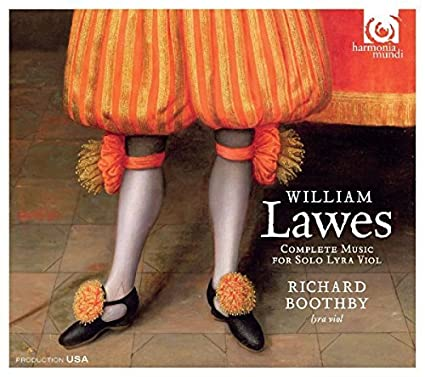William Lawes: Complete Music For Solo Lyra Viol by Richard Boothby