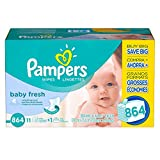 Pampers Wipes 12x Refill, 864 ct (Old Version)