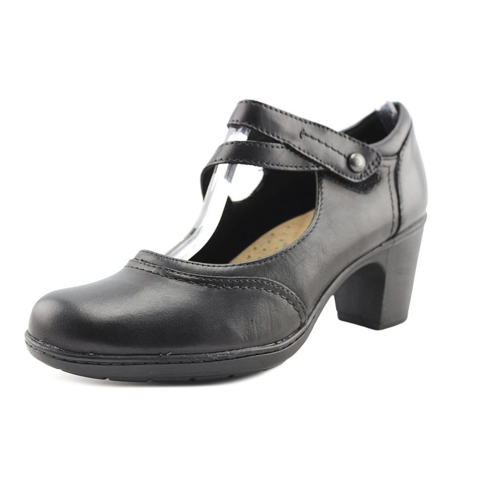 f555d4f3a9 Women's Earth Origins, Bristol Mid Heel Pumps These heels are perfect to  dress up or down for any occasion! Leather upper. Adjustable hook and loop  closure ...