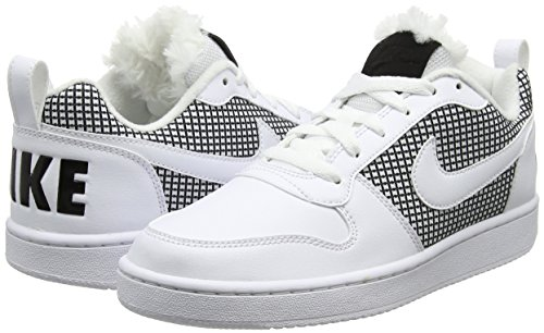Nike Court Black blanco 916794 100 Adulto White Deporte Unisex Zapatillas Blanco Borough Wmns rOpXgrqE