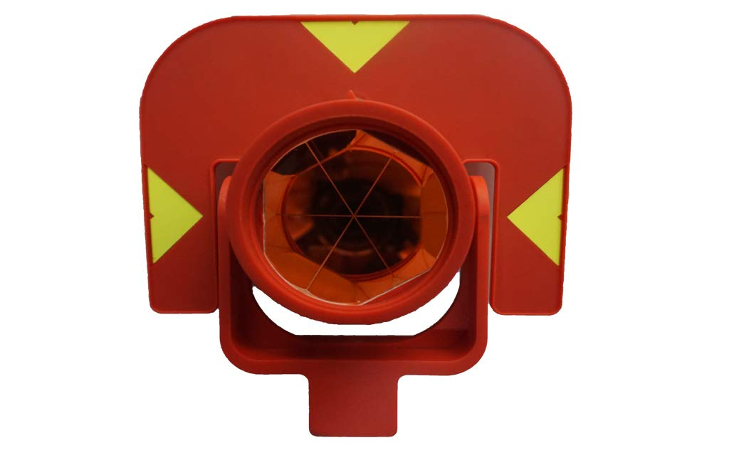 GEOLENI All-Metal Single Tilt Prism Z-GPR111With Case for Land Surveying Prism for Total Stations