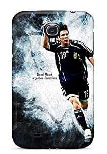 SkegY14371WbNsb Snap On Case Cover Skin For Galaxy S4(lionel Messi Argentina)
