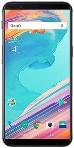 OnePlus 5T A5010 - 6GB RAM + 64GB - 6.01 inch - Factory Unlocked International Version - WITH WARRANTY - GSM ONLY, NO CDMA (Midnight Black)
